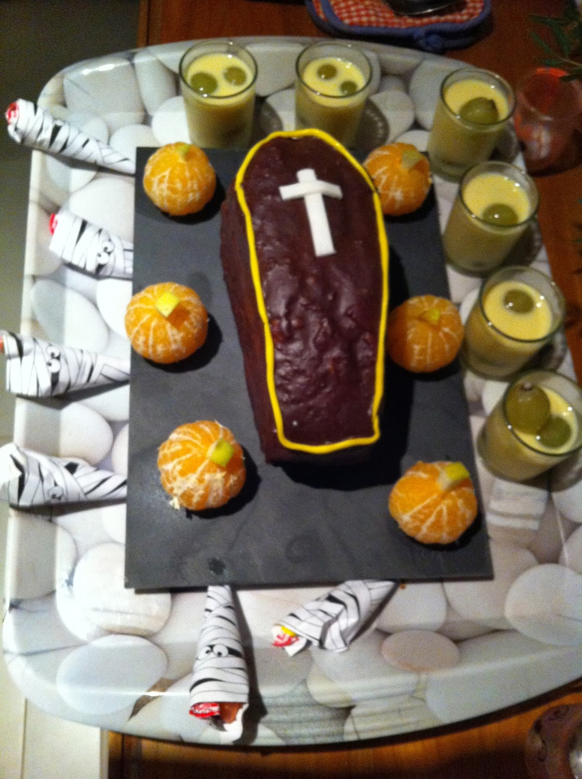 Les douceurs de lisou id e de menu d 39 halloween - Idee menu halloween ...