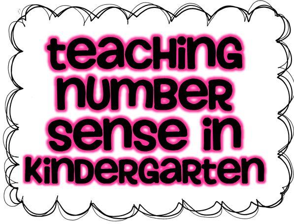 Number Sense Classroom Resources freebie Little Minds at Work – Kindergarten Number Sense Worksheets