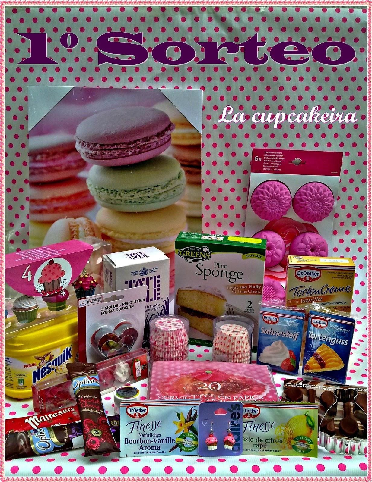 SORTEO/SORTEIG de La Cupcakeira