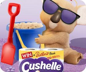 Cushelle Win a UK Break