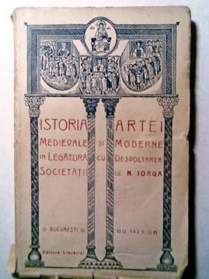 bibliofilie+Books+of+art+carti+Cărţi+Rare+Nicolae+Iorga+carti+arta