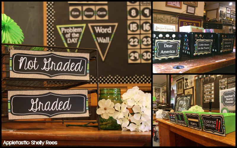 Homey Classroom Decor ~ Classroom decor reveal chalkboard and burlap