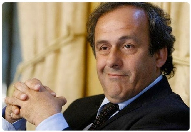 Platini: I would like that the report of Garcia to be published fully