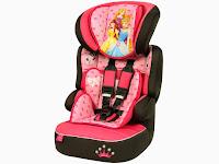 Cadeira para Auto Disney Princesas até 36Kg