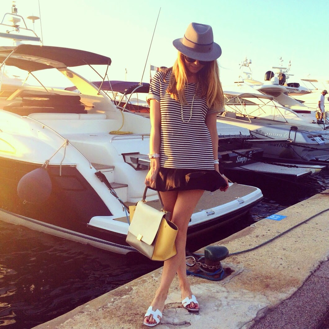 cannes, saint tropez, french riviera, streetstyle, fashion blogger, chanel, céline, hermès, zara