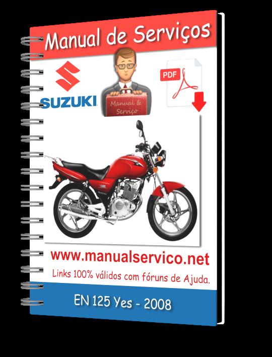 Manual De Servi U00e7os - Suzuki - En 125 Yes