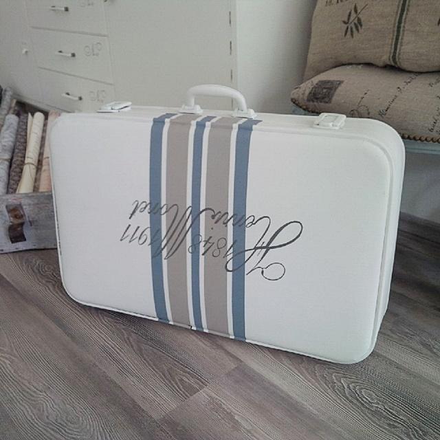 recupero creativo di una vecchia valigia