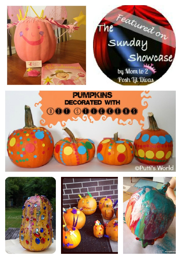 Mom to 2 Posh Lil Divas: The Sunday Showcase - Kids Pumpkin ...