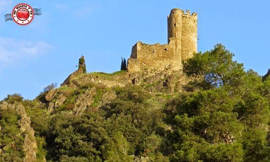 Castillos de Lastours en Francia