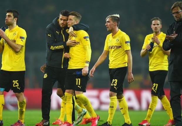 Goleado na UCL, Dortmund dá adeus ao sonho do bicampeonato