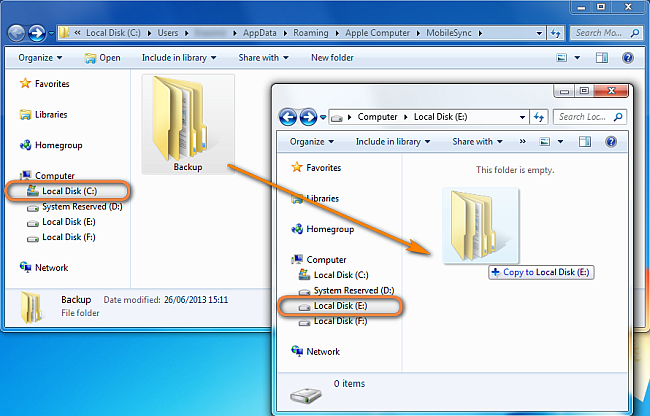 how to backup a hard drive to another