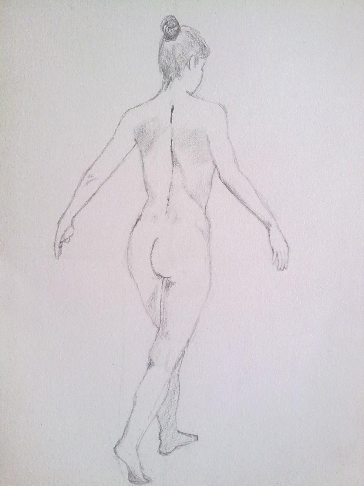 Esqueleto Dibujo a Lapiz Dos Dibujos Realizados a Lápiz