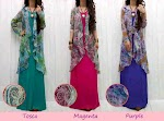 Gamis Spandex + Bolero Sifon SOLD OUT