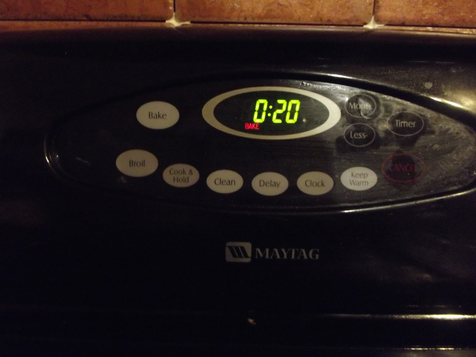 bake in the oven and make the entire home smell like burning plastic #AAC209