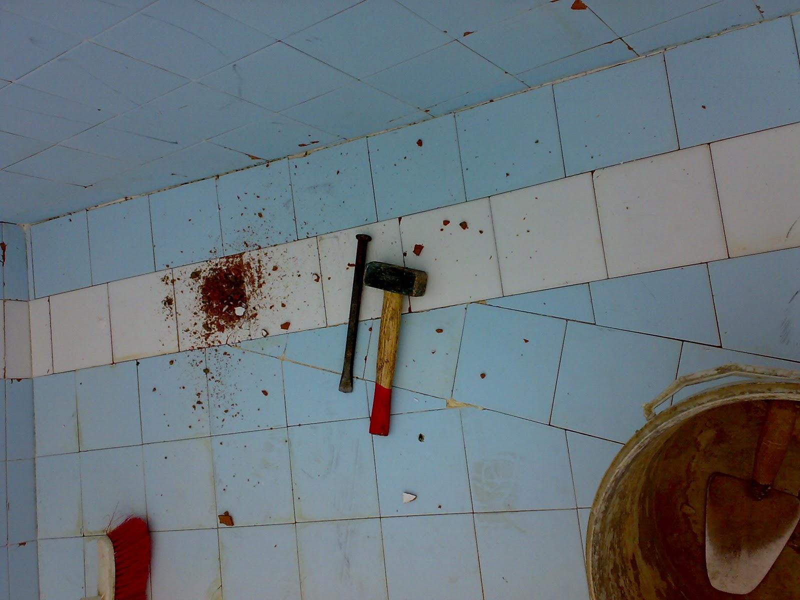 Azulejos alicatados y alicatadores reparaci n de - Colocar azulejos sobre azulejos ...