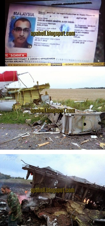 MH17 : Gambar-Gambar Terkini Tragedi MH17 (20 Gambar)