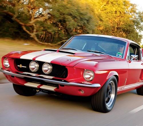 Propaganda do Ford Mustang para o ano de 1967. Campanha americana do carro esportivo de sucesso mundial.