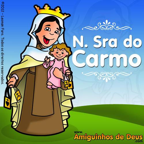 Nossa Senhora do Carmo desenho