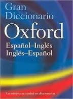 Diccionario Inglés Español. OXFORD