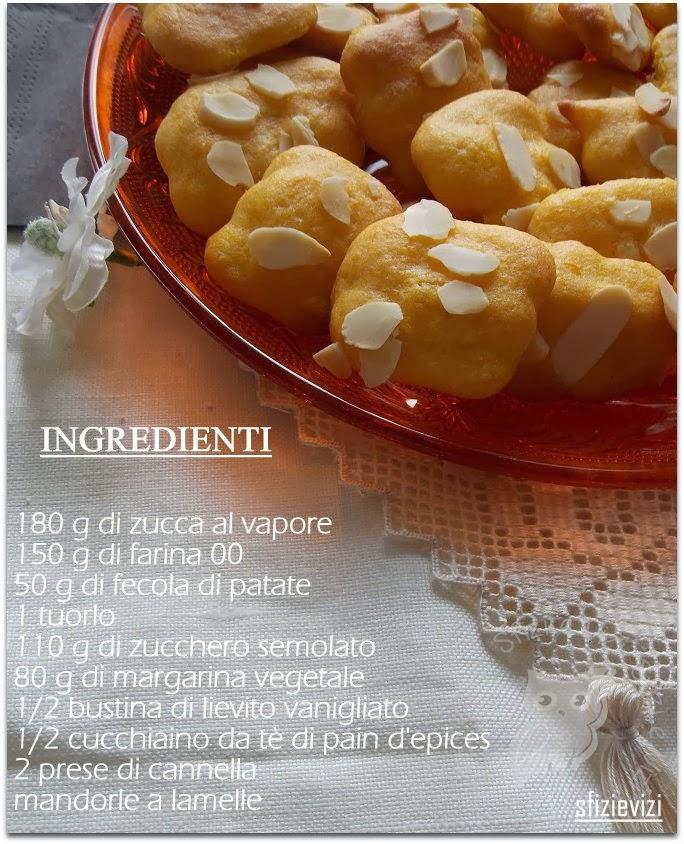 biscotti di zucca leggeri - ovvero come ti riciclo la zuppa di zucca - ricetta senza latticini -
