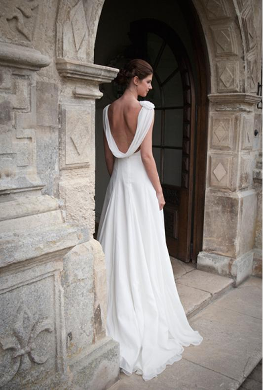 johanna hehir cowl back destination wedding dress