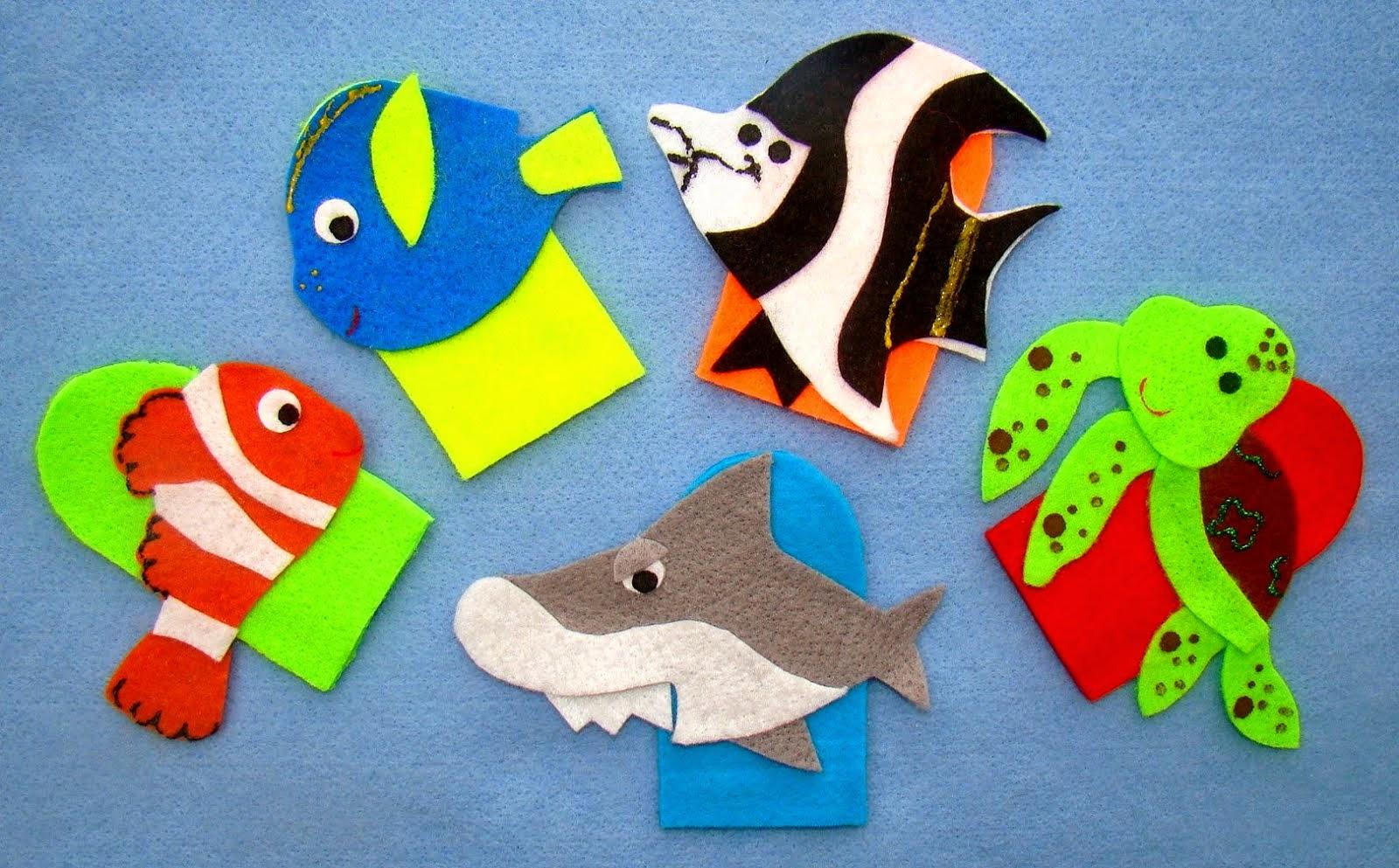 Dedoche Procurando Nemo
