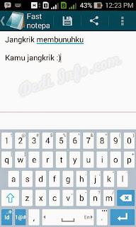 Membuat TXT di Android