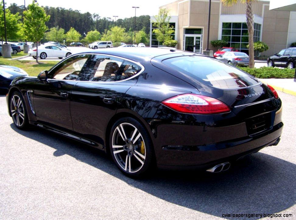 2010 Porsche Panamera Interior Black