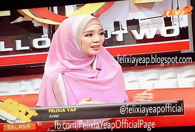 Kenyataan Terbaru Felixia Yeap Mengenai Hijab Yang Dipakainya !..
