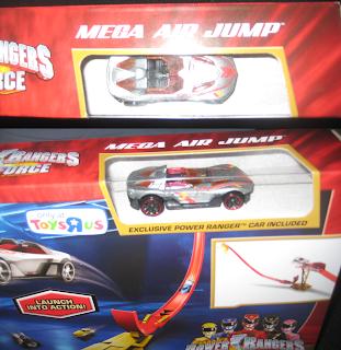 Henshin Grid: Power Rangers Megaforce Hot Wheels Mega AIr ...