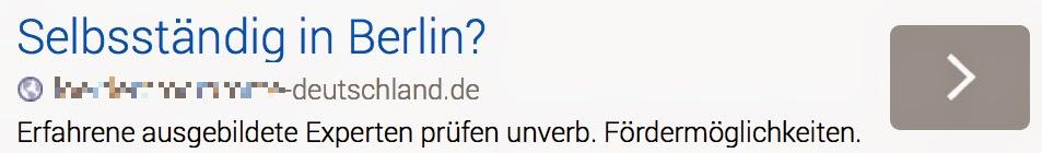 Selbsständig in Berlin? *cut*-deutschland.de