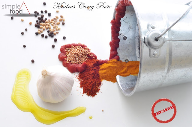 Madras Curry Paste ~ Simple Food