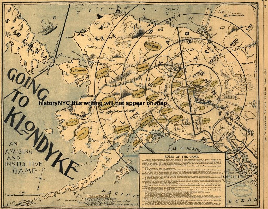 La fiebre del oro de Klondike, Alaska