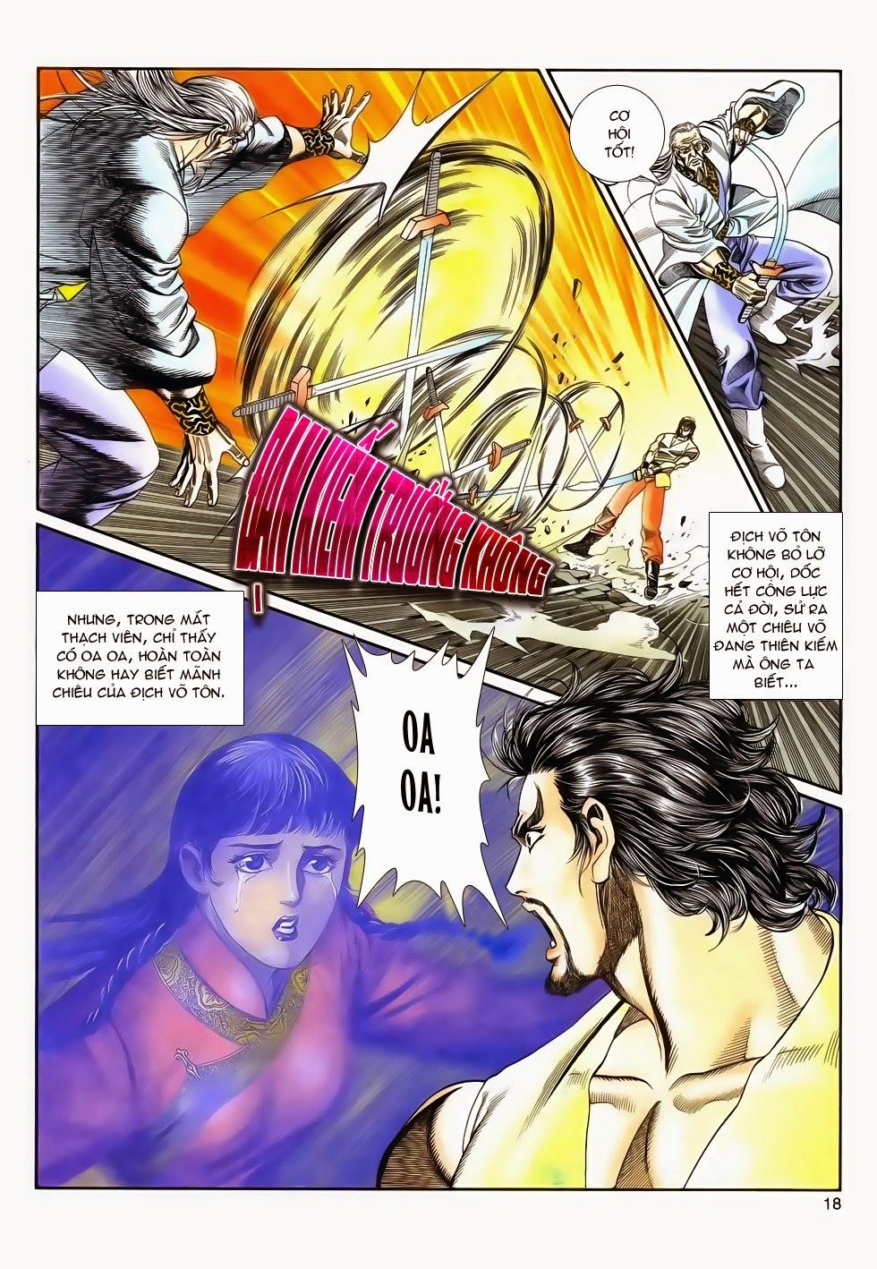 Long Hổ Phong Bạo chap 4 - Trang 17