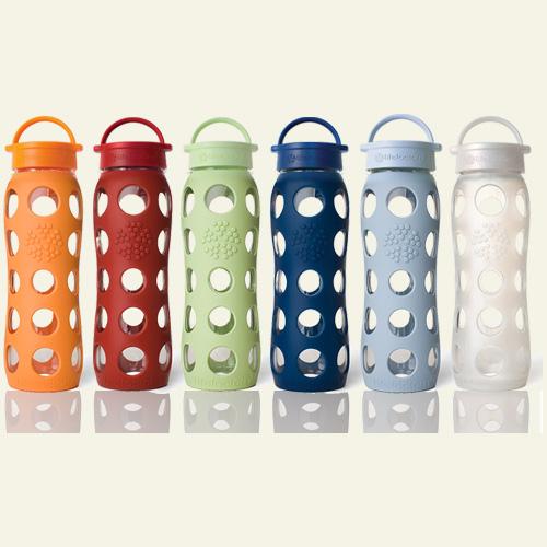 Glass Water Bottles  Reusable Glass Bottles  Eco