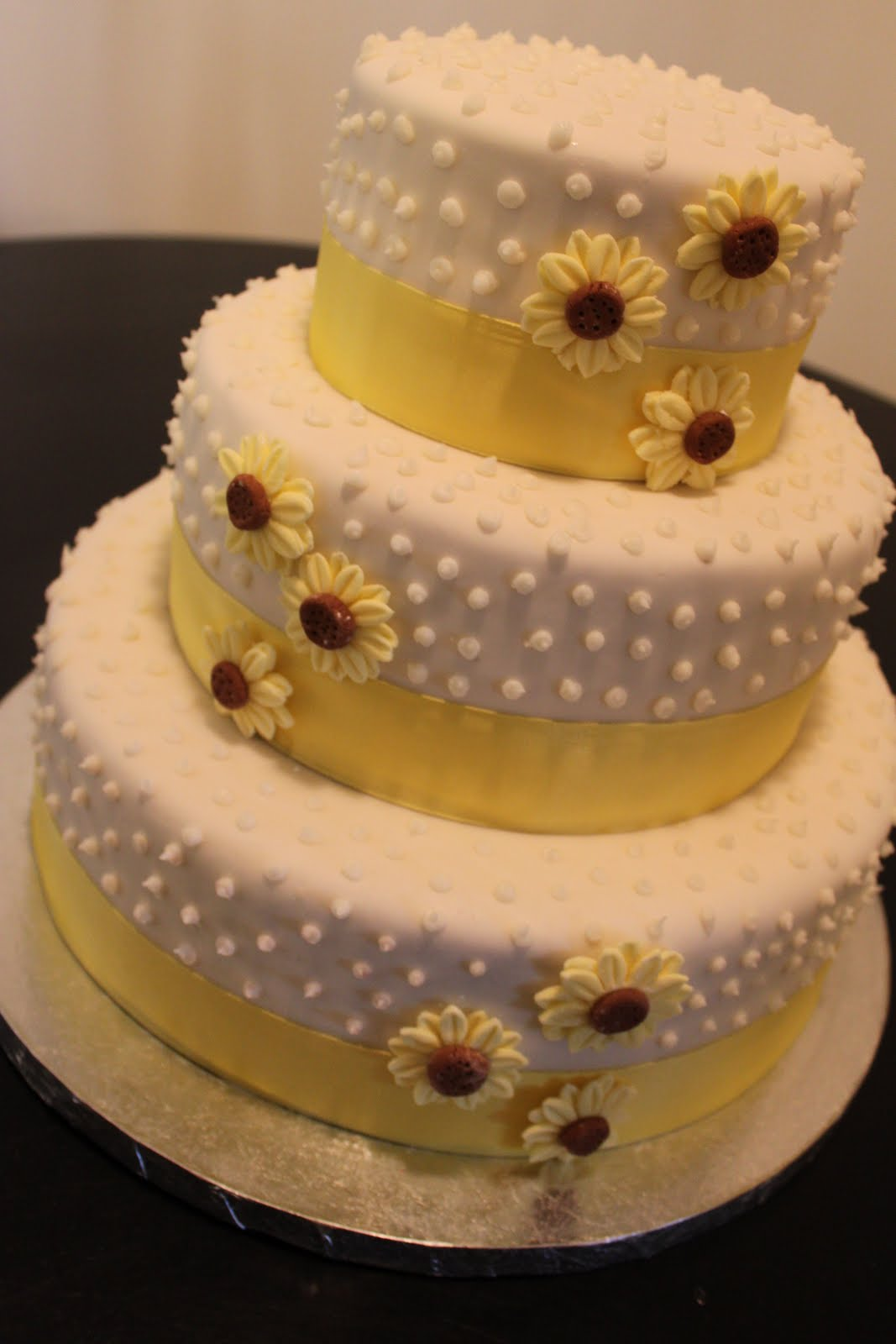 international fashion Sunflower themed wedding