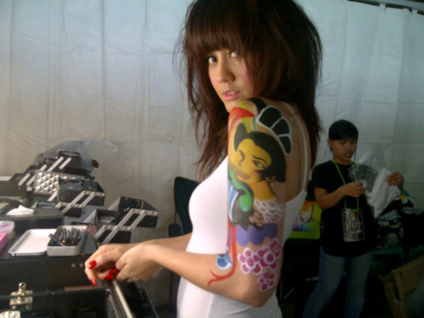 Artis Indonesia - Foto Agnes Monica 2012