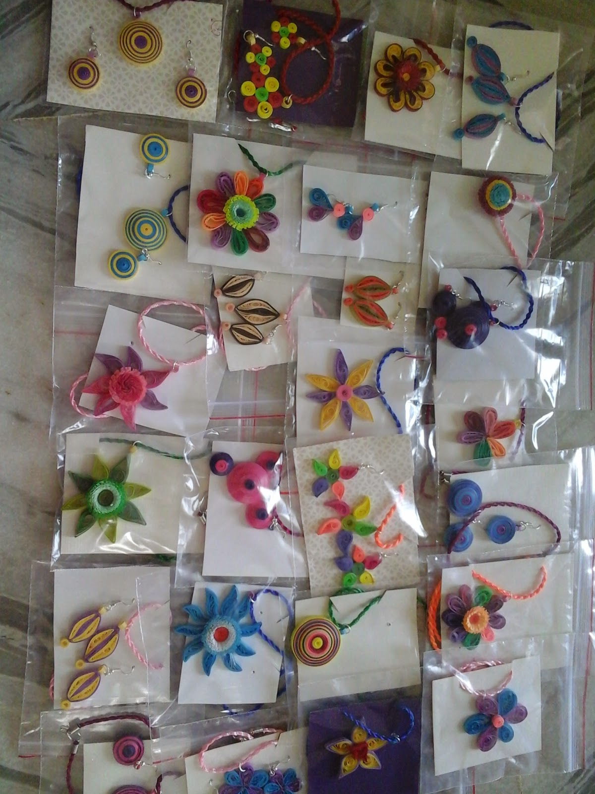 Paper Jewellery Necklace Paper Jewellery Paper Quilled