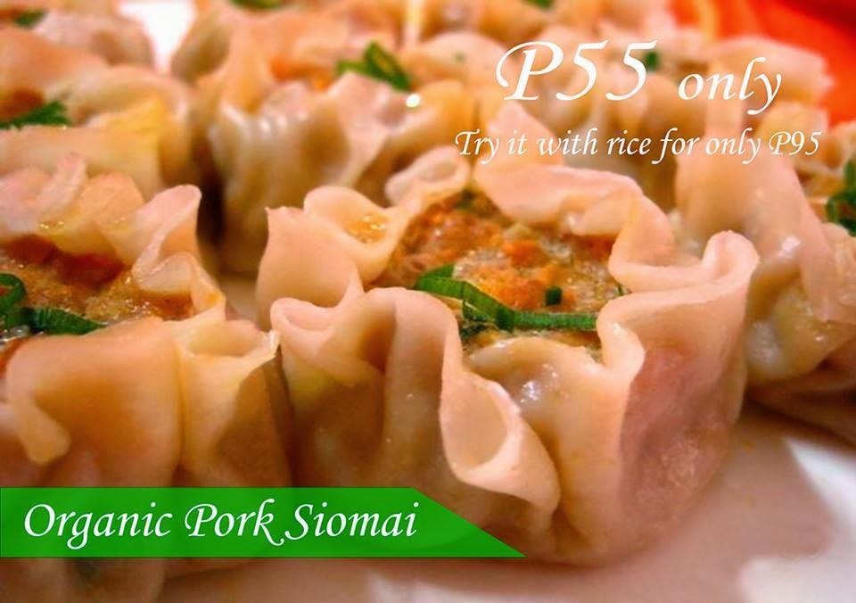 Nuezca Cafe: Organic Pork Siomai