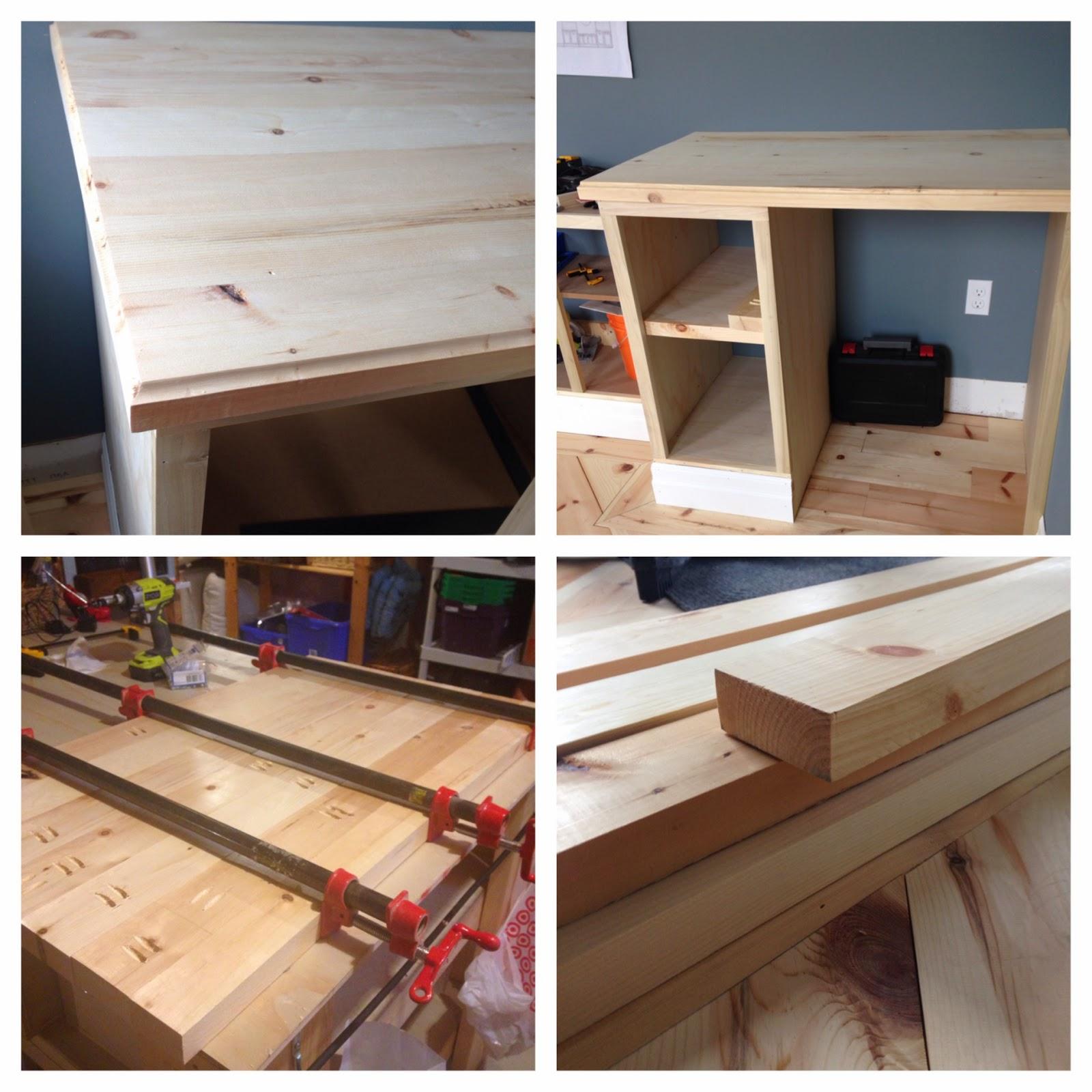 Base Cabinet Tops, DIY Wood Counter Tops