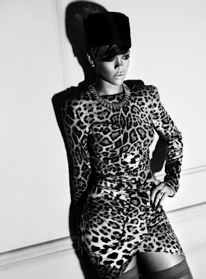 Rihanna by Tom Munro | Elle pictures