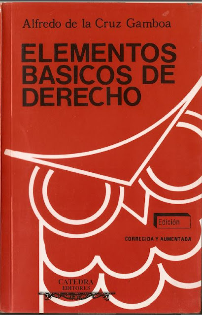 ELEMENTOS BASICOS DE DERECHO - ALFREDO DE LA CRUZ GAMBOA
