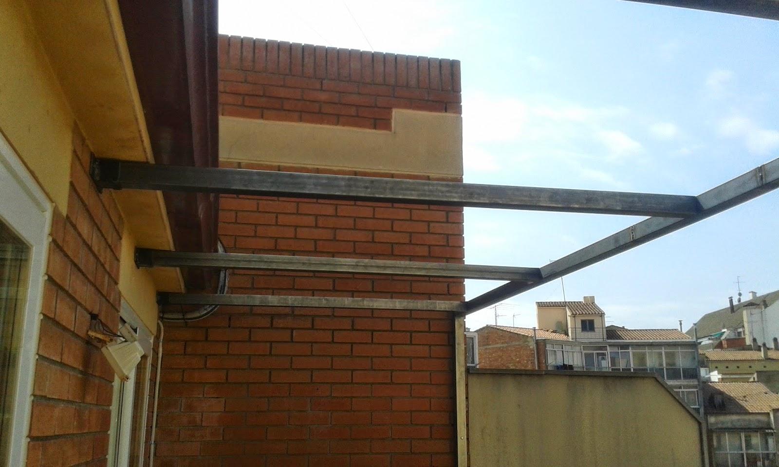 Bram creaciones estructura met lica para terraza - Estructuras para terrazas ...
