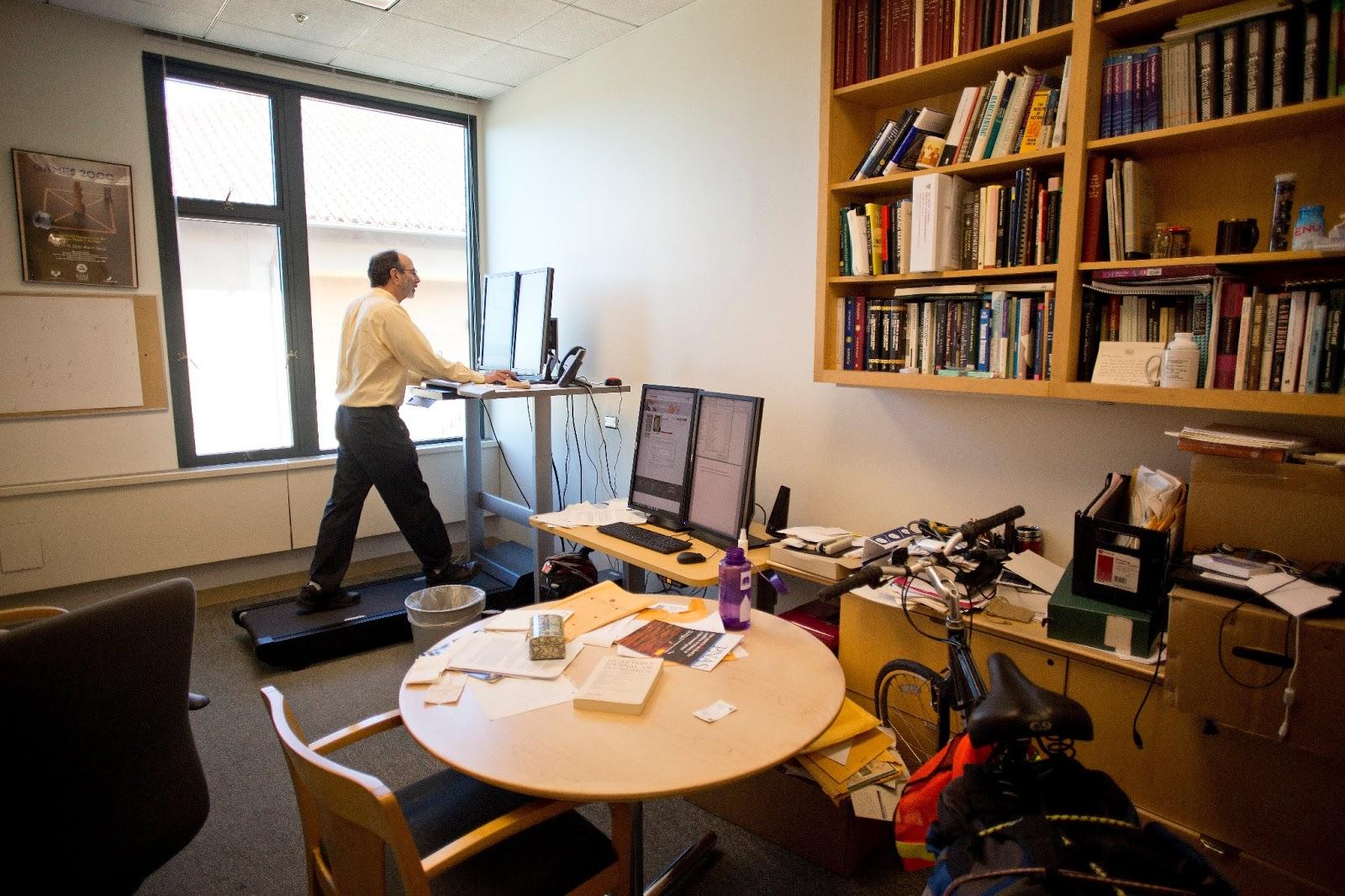 Executive Treadmill Desk Treadmill desk