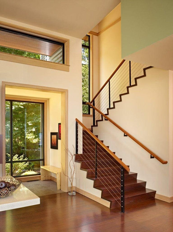 New home designs latest homes stairs designs ideas Inside staircase in houses