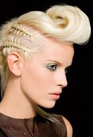 peinados para mujer, peinados rockabilly para mujer, peinados de mujer rockabilly, tendencias de peinados modernos, peinados con trenzas, peinados con trenzas para mujer