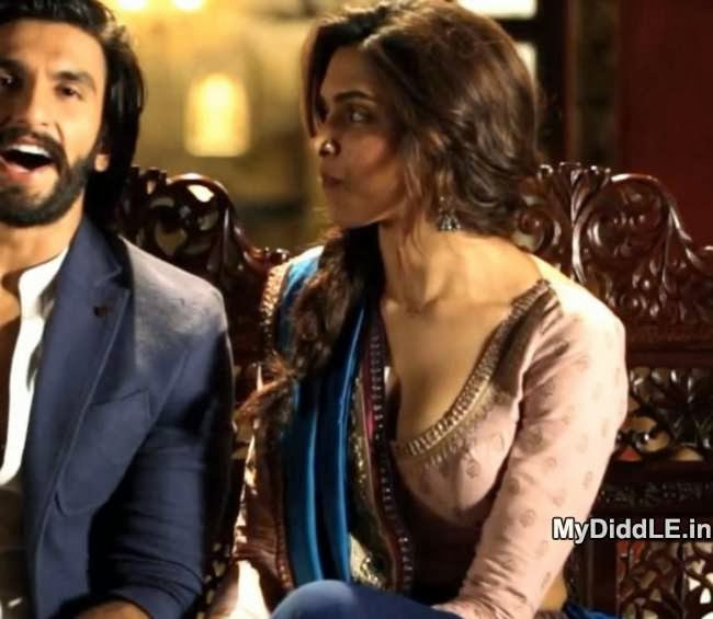 Unseen - Deepika Padukone's Burning Hot Stills From Ramleela