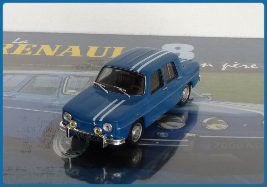 Garage De Poche Jip 233 Renault R8 Gordini 1100