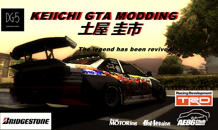 KEIICHI GTA MODDING