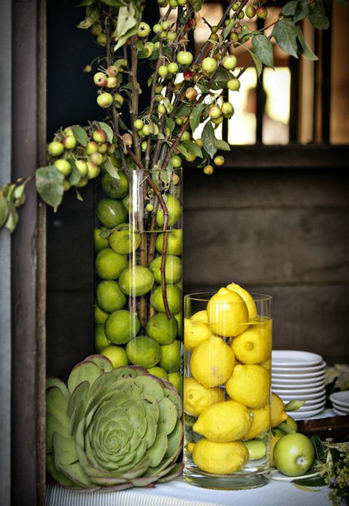 accessory alert: greens apples and other fashionable fruit